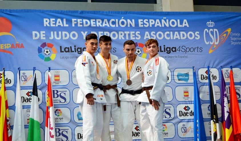 El Sanfernandino Luis Miguel Casas, se proclama SUBCAMPEÓN DE ESPAÑA en la categoría absoluta lucha – 62 kg.
