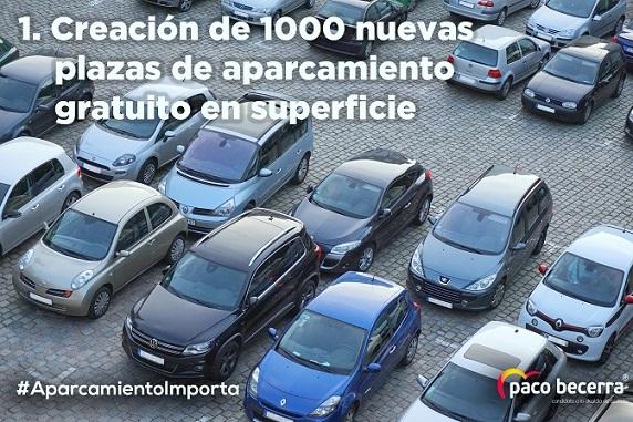 El PP de Coslada promete crear 1.000 nuevas plazas de aparcamiento gratuitas en superficie.