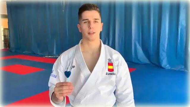 El Karateca Madrileño Sergio Galán, se suma a la campaña contra la muerte súbita
