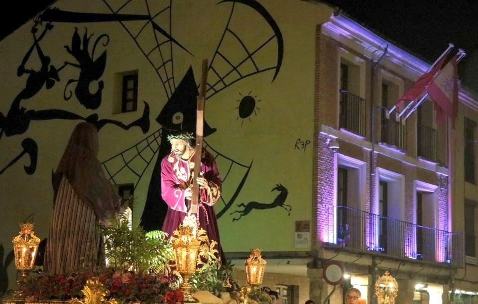 La Semana Santa 2019 en Alcalá de Henares. EL Vía Crucis.