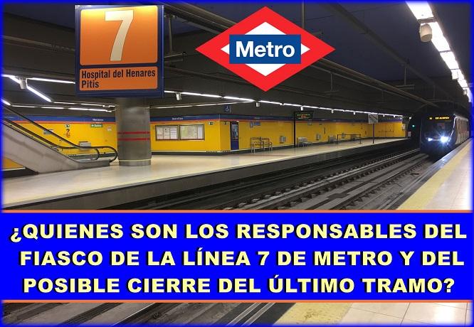 El Fiasco de la línea 7b de Metro: ¿ Quienes son los responsables??