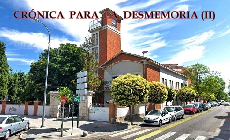 II entrega de la Asc. El Molino, de su crónica sobre el complejo de «El Pilar» de San Fernando de Henares.