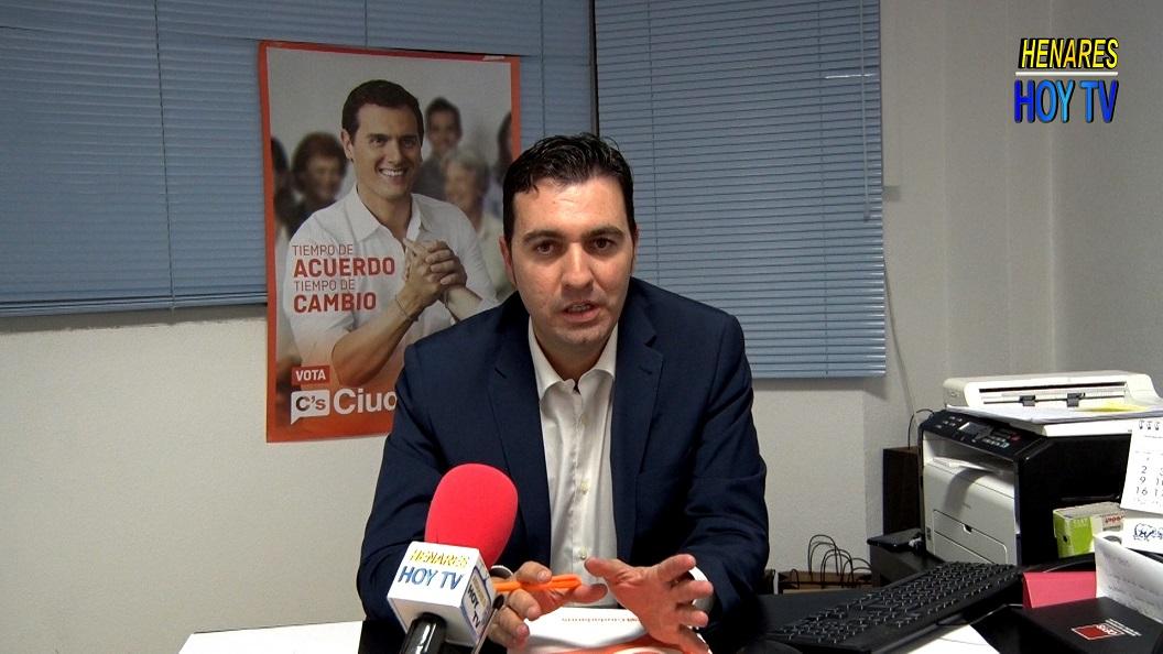 Alberto Hontecillas candidato a la Alcaldía de San Fernando de Henares