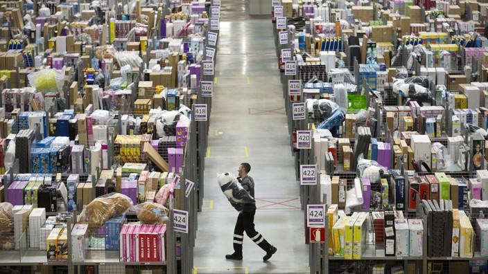 En Amazon, los despidos los decide un sistema informático basándose en la productividad.