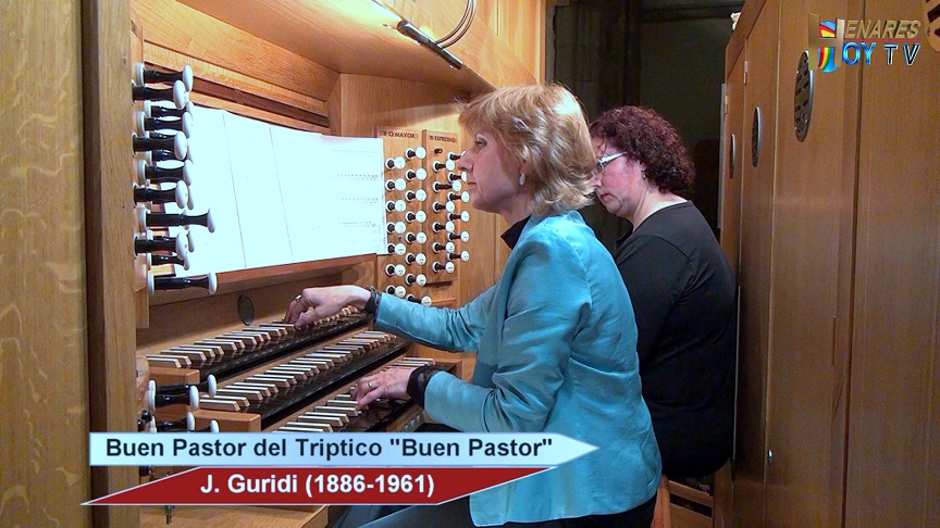 Momentos Musicales.- Liudmila Matsyura -órgano- Buen Pastor , obra de J. Guridi.