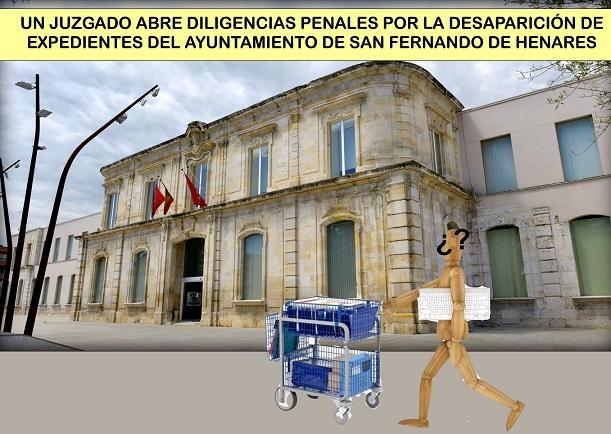 Un Juzgado abre Diligencias Penales por la desaparición de Expedientes enteros del Ayuntamiento de San Fernando.