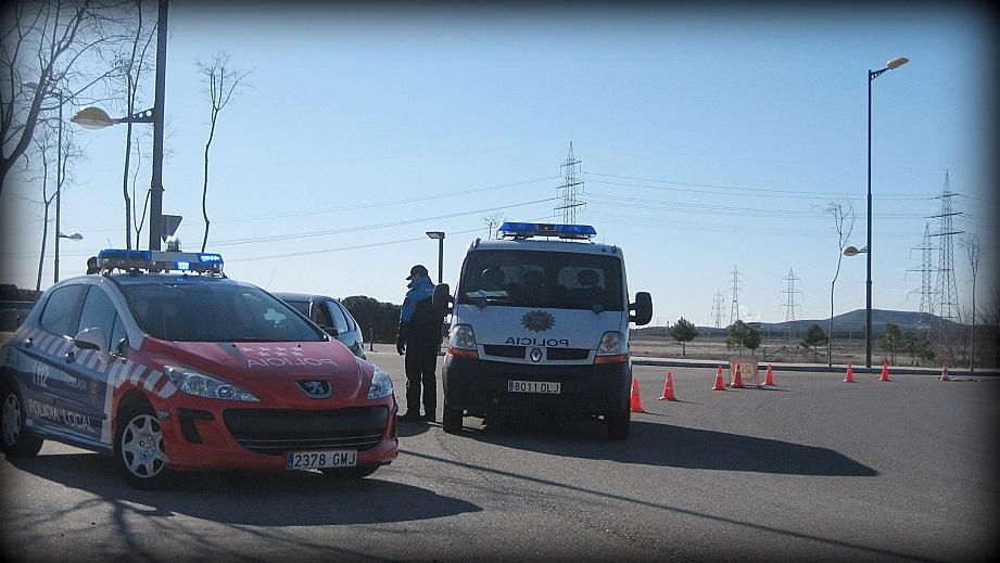 La Policía Local de Coslada localiza a un conductor fugado y presuntamente responsable del atropello a un peatón.