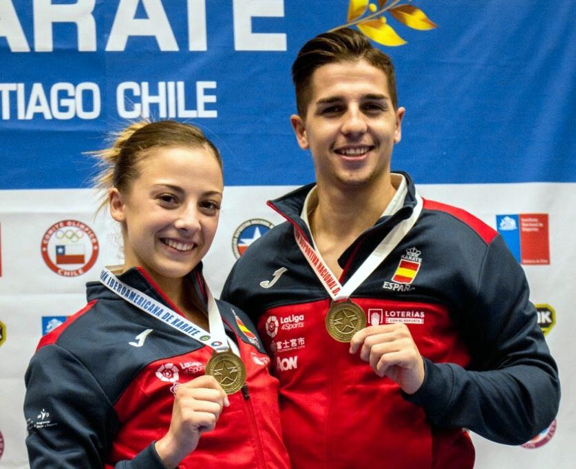 Los madrileños Sergio Galán y Lidia Rodríguez representarán a España en el Campeonato Iberoamericano de Karate .