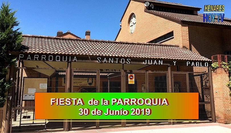 El domingo 30 de Junio la Parroquia de los Santos Juan y Pablo organizan su tradicional Fiesta Anual.