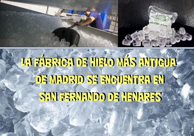 La fábrica de hielo más antigua de Madrid, se encuentra en San Fernando de Henares.