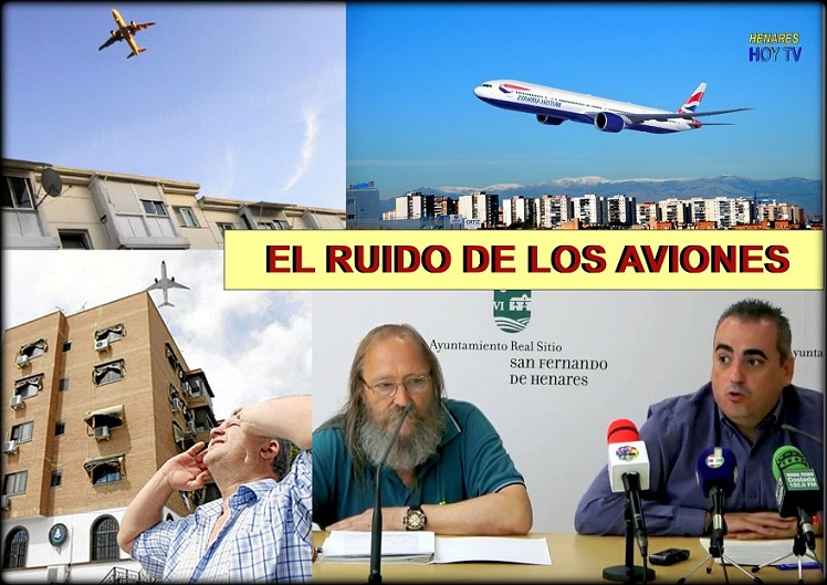 Pretenden retomar las acciones y protestas contra el ruido de los aviones de Barajas