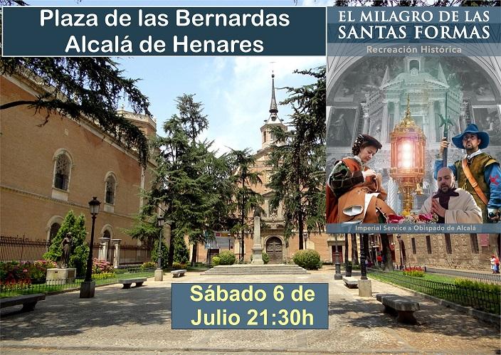 """Alcalá de Henares: Recreación Histórica """"El Milagro de las Santas Formas"""""""