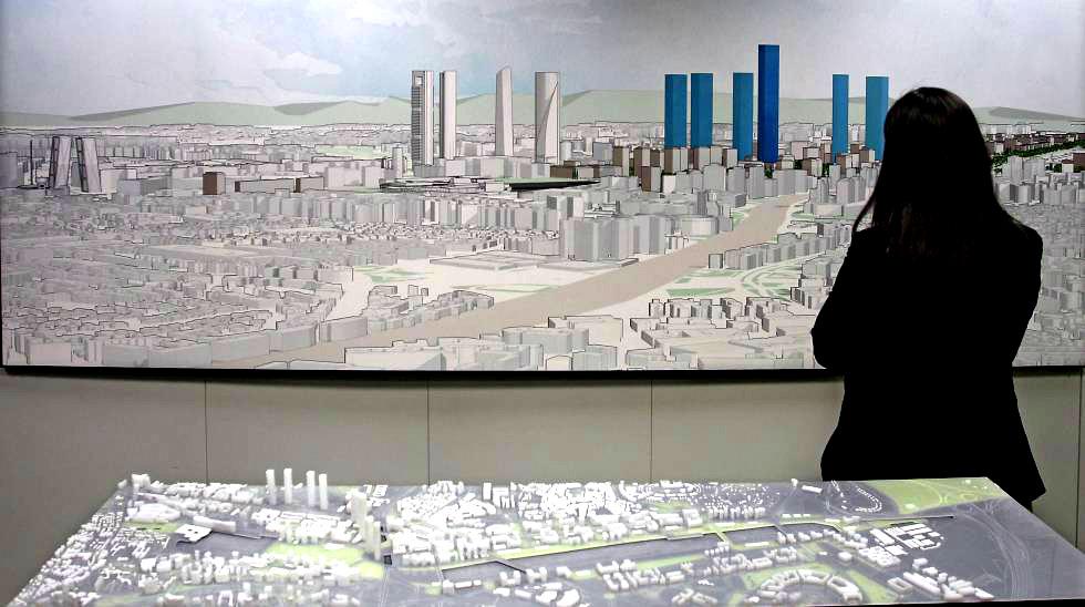 Madrid.-La operación Chamartín generará 95.000 empleos hasta 2028.