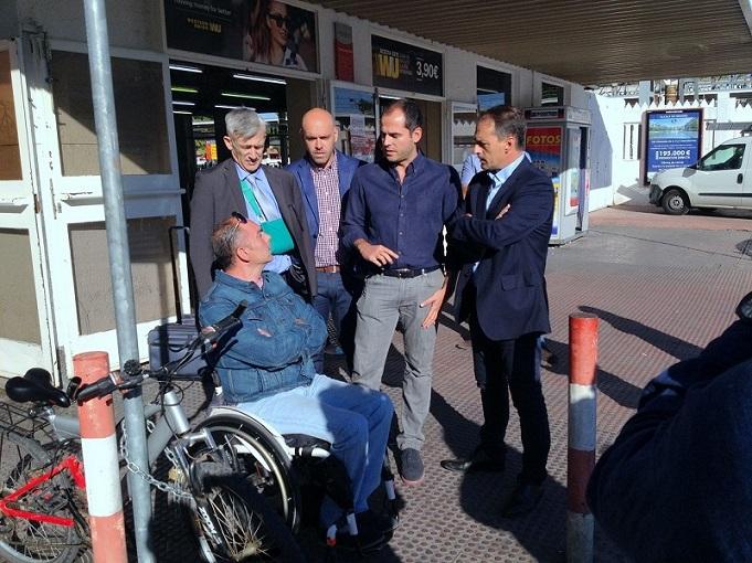 """Alcalá.-Lezcano (Cs): """"La accesibilidad universal de la estación de Renfe es para nosotros un objetivo que nos marcamos en 2017."""