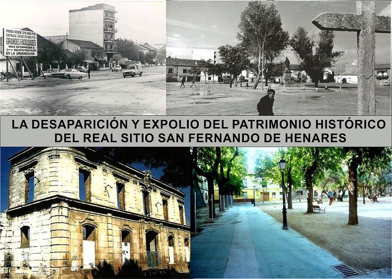 La Asc. C. C. El Molino, analiza el proceso de desaparición y expolio sufrido por el conjunto Histórico de San Fernando de Henares, desde 1946 a 1975.