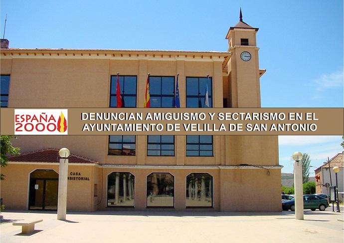 Velilla de San Antonio: Denuncian Sectarismo y Amiguismo en el Ayuntamiento.