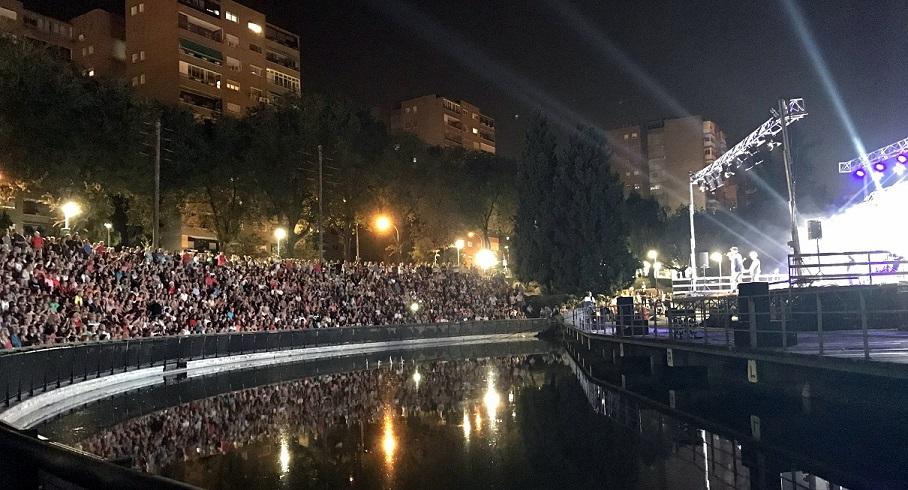 Con una gran asistencia de Público, se cerró este sábado la programación del «Verano Cultural de Coslada».