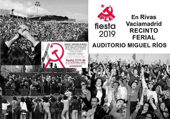 Primera Fiesta del PCE: Casa de Campo. 15 y 16 Octubre 1.977