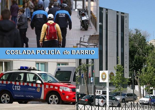 Coslada.- La Policía de Barrio localiza a un menor fugado de su domilicio.