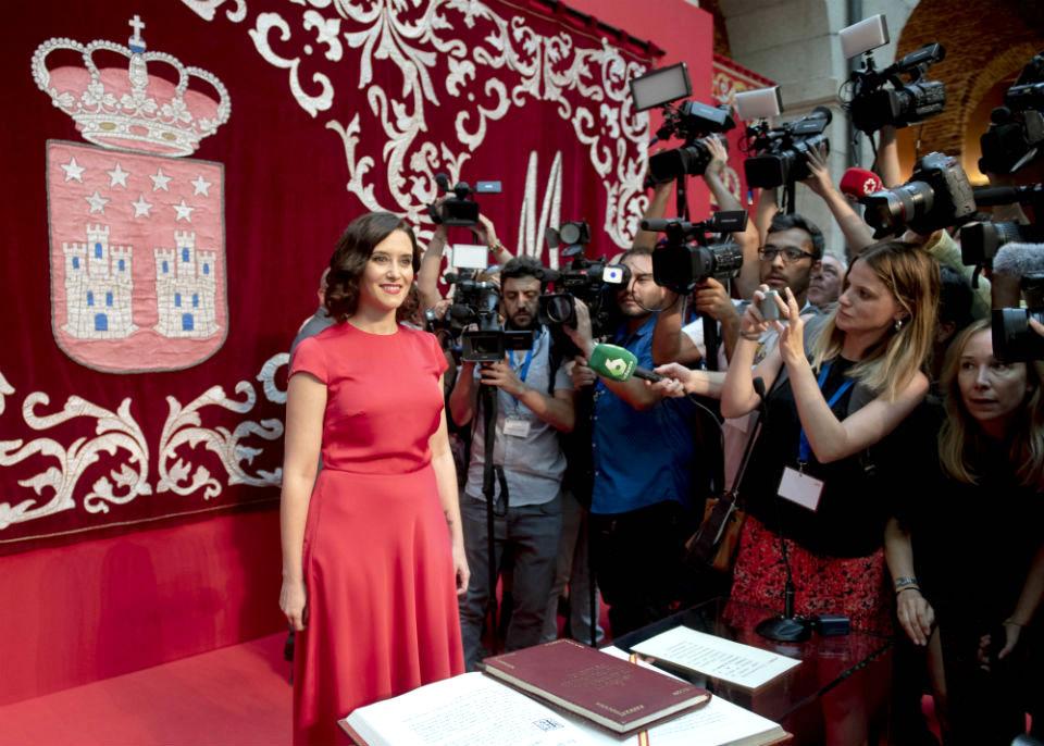 La Comunidad de Madrid, ya tiene nueva Presidenta: La Popular Isabel Díaz Ayuso.