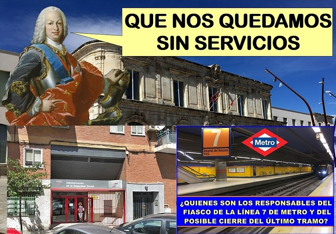 San Fernando de Henares cada vez pierde más servicios y dependencias del Estado.