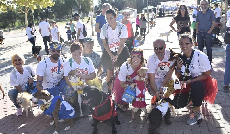 Según el Ayuntamiento el Mascocan Solidario de Coslada atrajo a más de 8.000 personas.