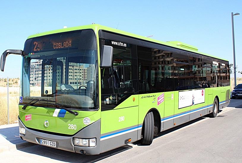 Coslada.- Modificación de itinerarios y horarios de la línea de autobús L-290.