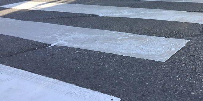 Alcalá.-El Ayuntamiento mejorará de forma urgente la seguridad de los peatones en los pasos de cebra.