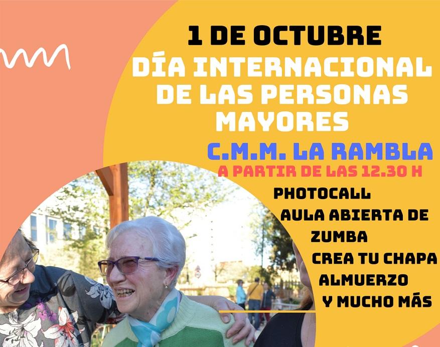 El Ayuntamiento de Coslada celebra el Día Internacional de las Personas Mayores.