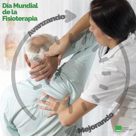 La población envejece y es imprescindible potenciar el trabajo de los fisioterapeutas.