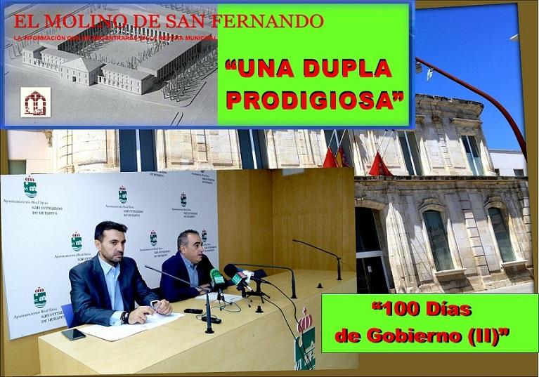 """La Asociación El Molino, publica la segunda Parte de """"UNA DUPLA PRODIGIOSA: CIEN DÍAS DE GOBIERNO (II)"""""""
