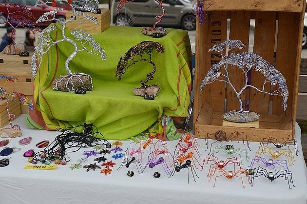 La Feria de Artesanía y Reciclaje de Coslada un escaparate perfecto para los artesanos.