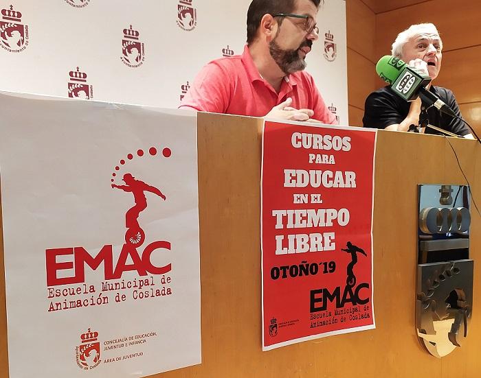 La Escuela Municipal de Animación Sociocultural de Coslada inicia una nueva temporada.