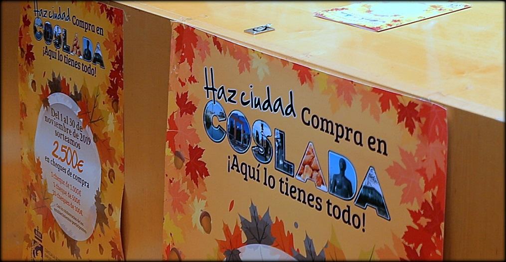 Coslada Inicia una campaña de fomento de las compras en el comercio Local de proximidad.