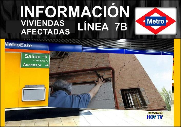 Metro de Madrid hará un estudio geotécnico por posibles afecciones a viviendas del este.