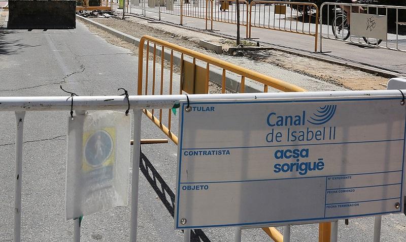 Coslada: Cambios provisionales en la circulación de vehículos en Ciudad 70 por las obras de instalación del nuevo colector.