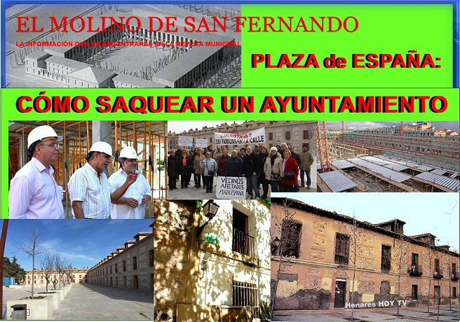 Última Publicación de El Molino: San Fernando Caso Plaza de España ´Cómo saquear un Ayuntamiento ´