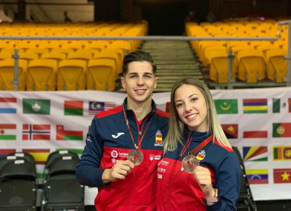 Lidia Rodríguez, y Sergio Galán a por el último torneo internacional de la temporada.