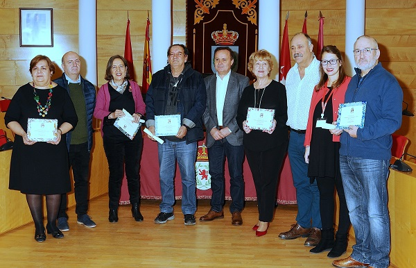 El Ayuntamiento de Coslada rinde homenaje a los trabajadores de su plantilla que sejubilan.