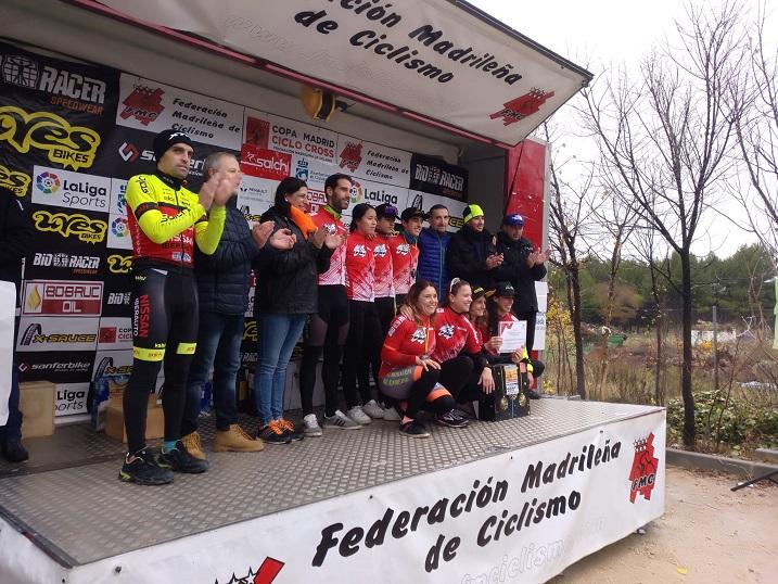Gran participación en el XVI Ciclocross del Ayuntamiento de Coslada.