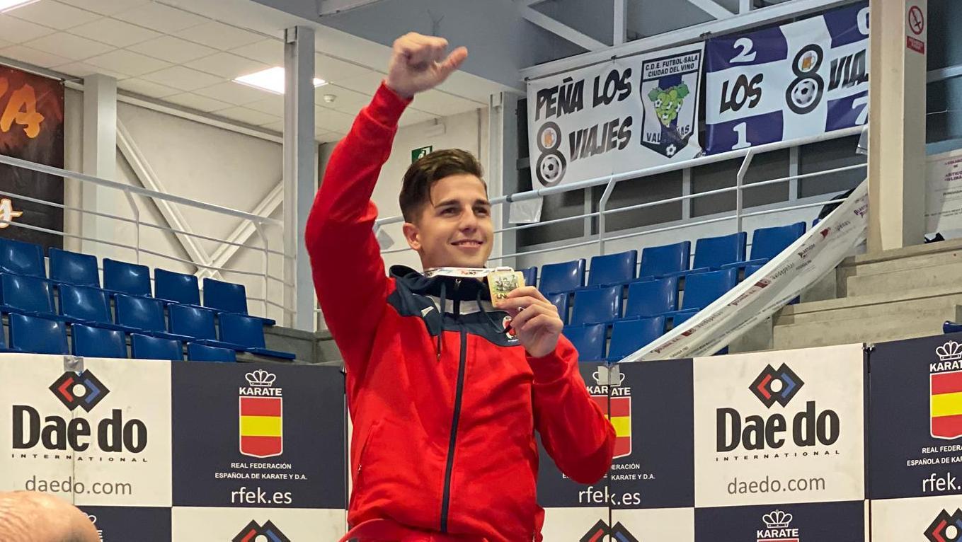 El sanfernandino Sergio Galán consigue este fin de semana su 39ª medalla en categoría Absoluta.