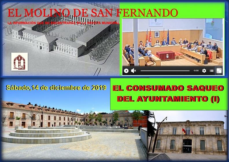 El Ayto. de San Fernando desestima las alegaciones presentadas por la Asc. C.C. El Molino.
