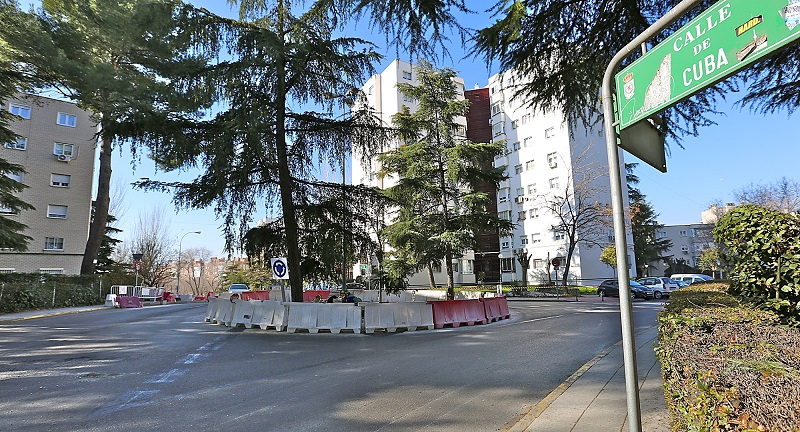 Coslada.- El miércoles 15 se inicia el asfaltado de la calle Cuba. Las obras se prolongarán durante cuatro días