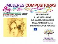 Cartel -Mujeres Compositoras