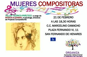Cartel -Mujeres Compositoras