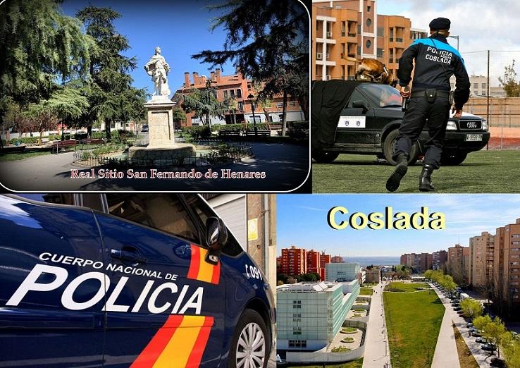 San Fernando y Coslada: Municipios que superan en INSEGURIDAD la media de la Comunidad de Madrid.