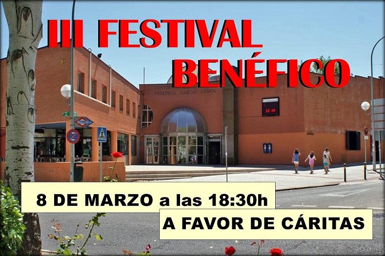 III Festival Benéfico el 8 de Marzo en el CC. Federico García Lorca.