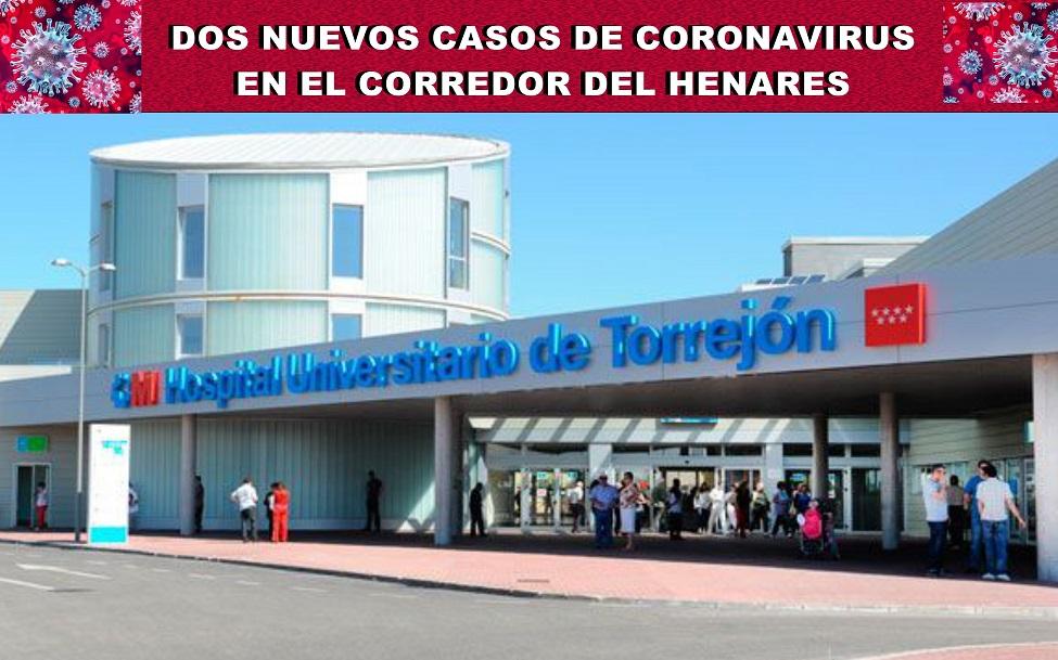 Coronavirus: Sanidad confirma dos nuevos casos ingresados en el Hospital de Torrejón de Ardoz.
