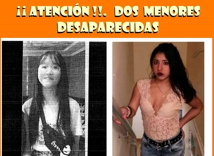 Desaparecidas dos menores de edad en Torrejón de Ardoz y Meco.