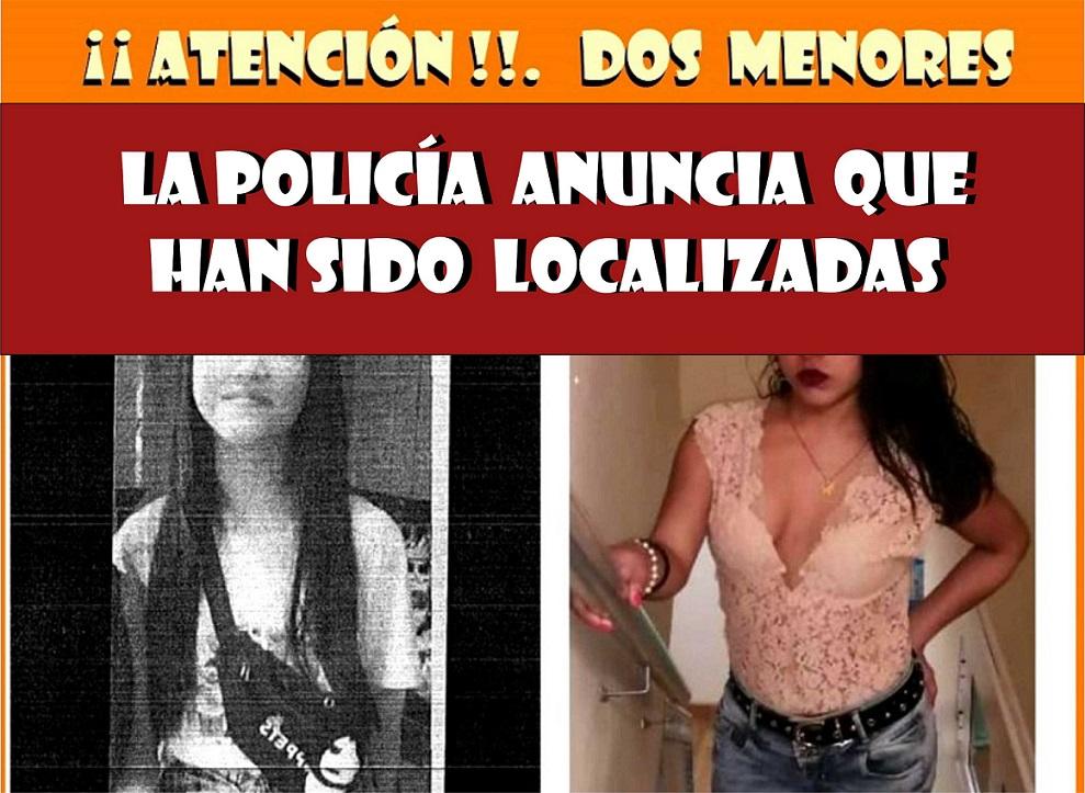 Localizadas en buen estado las menores desaparecidas en Torrejón y Meco.